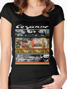 cezanne Women's Fitted Scoop T-Shirt