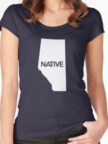 Alberta Native AB Women's Fitted Scoop T-Shirt