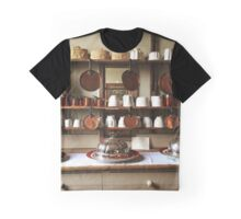 Victorian Kitchen Display Graphic T-Shirt