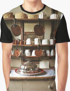 Victorian Kitchen Display Graphic T-Shirt