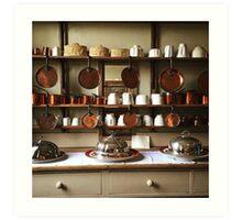 Victorian Kitchen Display Art Print