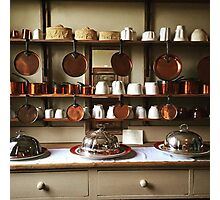 Victorian Kitchen Display Photographic Print