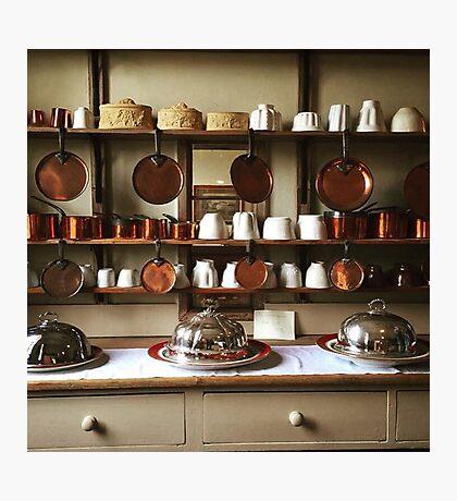 Victorian Kitchen Display Photographic Print