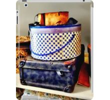 Vintage Hat Boxes iPad Case/Skin