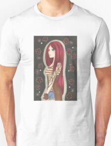 Girl with the Sakura Tattoo T-Shirt