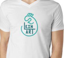 Lein Art Mens V-Neck T-Shirt