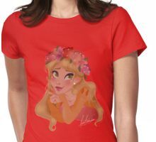Spring Princess Womens Fitted T-Shirt