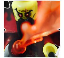 Lego Evil Wizard minifigure Poster