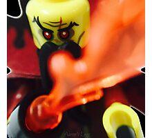 Lego Evil Wizard minifigure Photographic Print