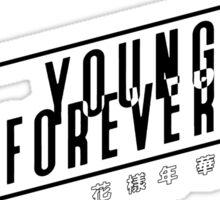 BTS Young Forever Album Art Sticker