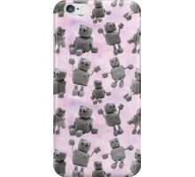 Ruby the Robot (Pink) iPhone Case/Skin