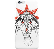 Graffiti Warrior of Courage iPhone Case/Skin