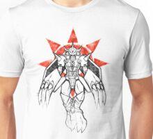 Graffiti Warrior of Courage Unisex T-Shirt