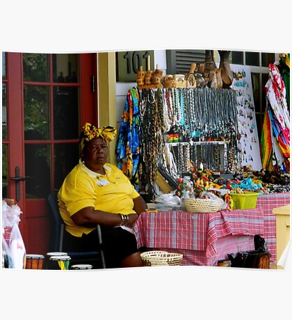 Souvenirs & Trinkets-Jamaican Style     ^ Poster