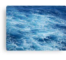 Caribbean Blue Canvas Print