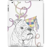 Party Animal ! Bulldog iPad Case/Skin