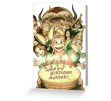 Avatar's Birthday Greeting Card
