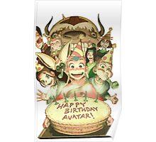 Avatar's Birthday Poster