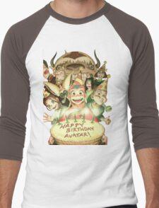Avatar's Birthday Men's Baseball ¾ T-Shirt