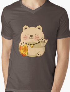 LUCKY SHAKA! Mens V-Neck T-Shirt