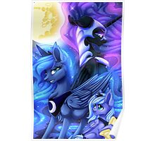 Princess Luna's Many Phases Poster