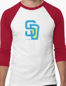 San Diego Baseball and Beer  Men's Baseball ¾ T-Shirt