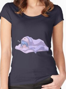 Sleeping soundly Women's Fitted Scoop T-Shirt