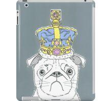 Pug In A Crown iPad Case/Skin