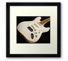 Stratocaster Framed Print