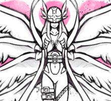 Graffiti Angel of Light Sticker