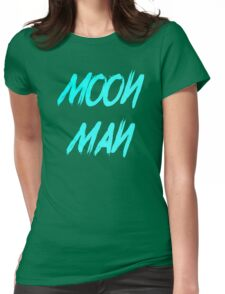Moon Man Womens Fitted T-Shirt
