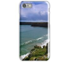 The Long Wave - Barafundle. iPhone Case/Skin