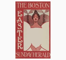 Artist Posters The Boston Sunday Hearld Easter E Reed 0038 One Piece - Short Sleeve