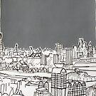 London City Landscape by Adam Regester
