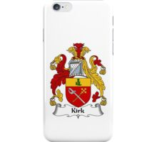 Kirk Coat of Arms / Kirk Family Crest iPhone Case/Skin