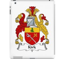 Kirk Coat of Arms / Kirk Family Crest iPad Case/Skin