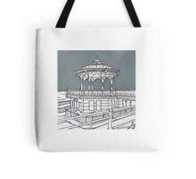 Brighton Bandstand Tote Bag
