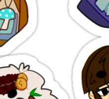 Satchel + Sickness Sticker Set Sticker