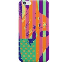 Psychedelic American Flag stratocaster iPhone Case/Skin