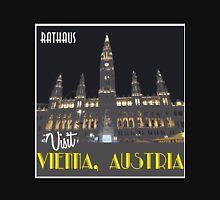 Vienna Rathaus Vintage Travel Poster Unisex T-Shirt