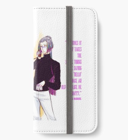 Saying hello iPhone Wallet/Case/Skin