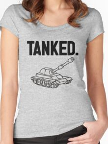 Tanked Women's Fitted Scoop T-Shirt