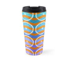 blue citrus Travel Mug