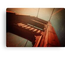 The Towering Golden Gate Canvas Print