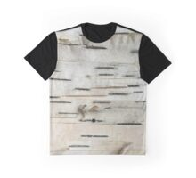 Birch Tree Bark Graphic T-Shirt