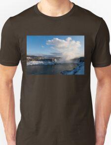 Niagara Falls - Horseshoe Winter Panorama T-Shirt
