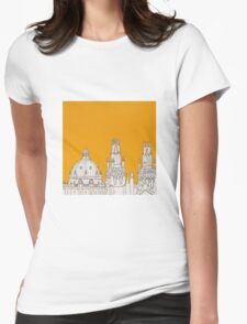 Oxford Rooftops Womens Fitted T-Shirt