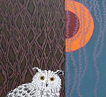 Owl Portrait by Adam Regester