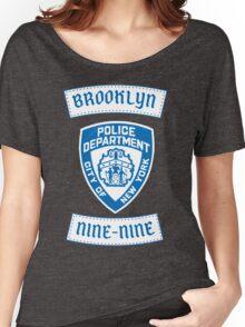 Brooklyn Nine-Nine Patch T-Shirt Women's Relaxed Fit T-Shirt