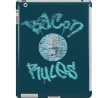 Vintage Bacon Rules iPad Case/Skin